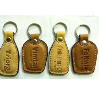 Genuine Leather Key Chain Holder - Personalized