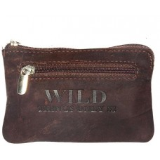 Hunter Leather Vintage Look Coin Pouch