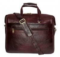 326 Laptop Bag - Executive Bag & File Bag - Real Leather Laptop Bag