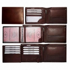 Genuine Cow Leather Men's Wallet as per European standard
