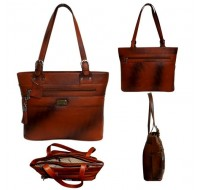 Genuine Leather Ladies Bag - Personalized